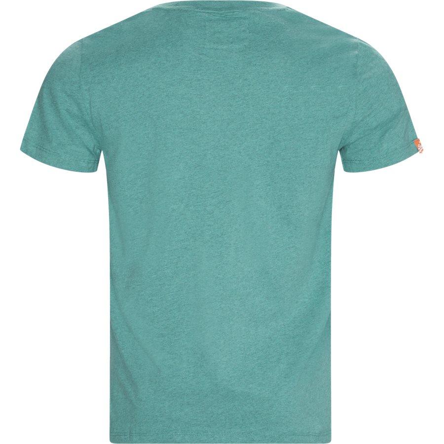 M1010 - T-shirts - Regular - GRØN W6T - 2